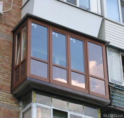 Остекление балконов и лоджий ламинированными конструкциями о.