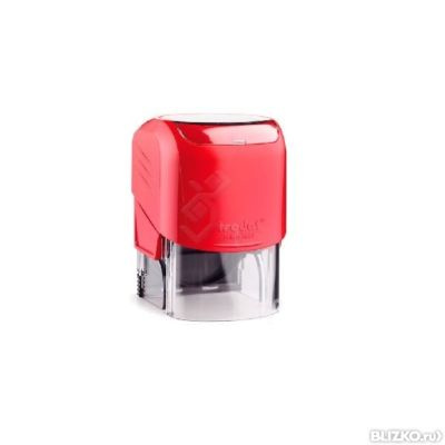 оснастка для печати красная