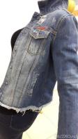 Куртка женская джинсоваяLOVEZARA ® вываренный аппликация