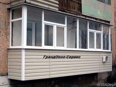 Установка балконов под ключ в омске. цена товара от 3 000 ру.