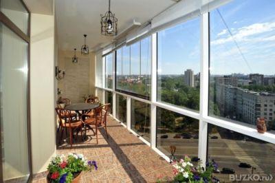 Утепление балкона с фасадным остеклением.