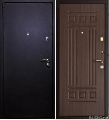 сколько стоят железные двери в ивантеевк