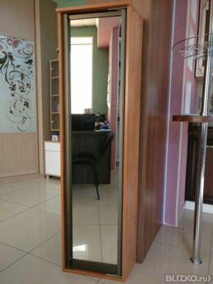 Шкаф корпусный с распашной дверью в профиле в городе омск. ц.