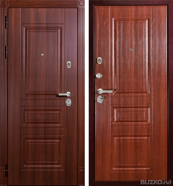 Дверь металлическая входная гарда муар