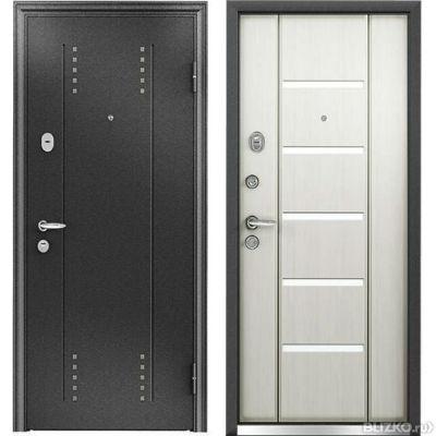 металлические двери элит черный шелк