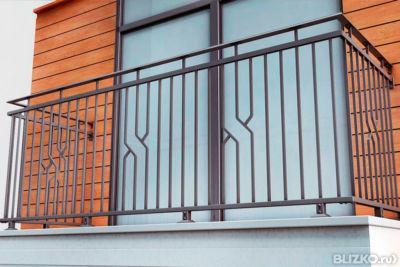 Балконные ограждения в загородный дом: как сделать, ковка, в.