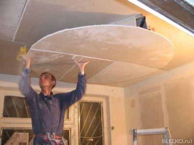 Потолок своими руками дешево и красиво фото