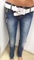 Джинсы женские BLUE BCO ® вываренные, ремень в подарок