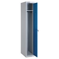 Шкаф металлический для одежды ШРС-11-300, односекционный, 1850х300х500мм, 1